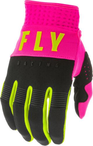 Fly Racing F-16 Dirtbike//ATV Gloves Pink//Black//Hi Viz All Sizes