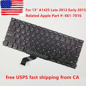 NEW-KEYBOARD-for-Apple-MacBook-Pro-Retina-13-A1425-Late-2012-Early-2013-US
