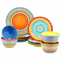 Certified International Valencia 12piece Dinnerware Set Free Shipping