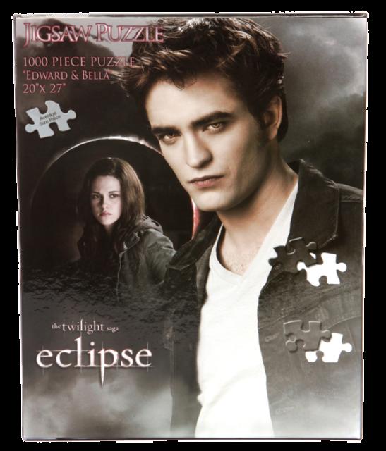 Eclipse - Jigsaw Puzzle Edward & Bella In Moon