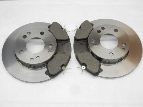 Bremsscheiben Ø262 mm voll Bremsbeläge vorne Set für Mercedes 190 W201 1,8 2,0