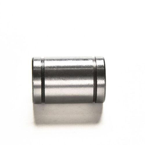 4PCS Inscribed Circle 10mm LM10UU Linear Ball Bearing Bush Bushing 10x19x29mm ~~