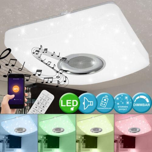 Bluetooth LED Sternen-Himmel Decken Lampe Lautsprecher RGB Fernbedienung dimmbar