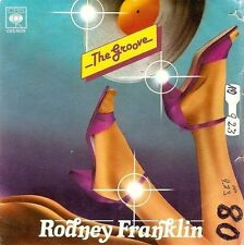 "RODNEY FRANKLIN The Groove 7"" Single Vinyl Record 45rpm Italian CBS 1980"