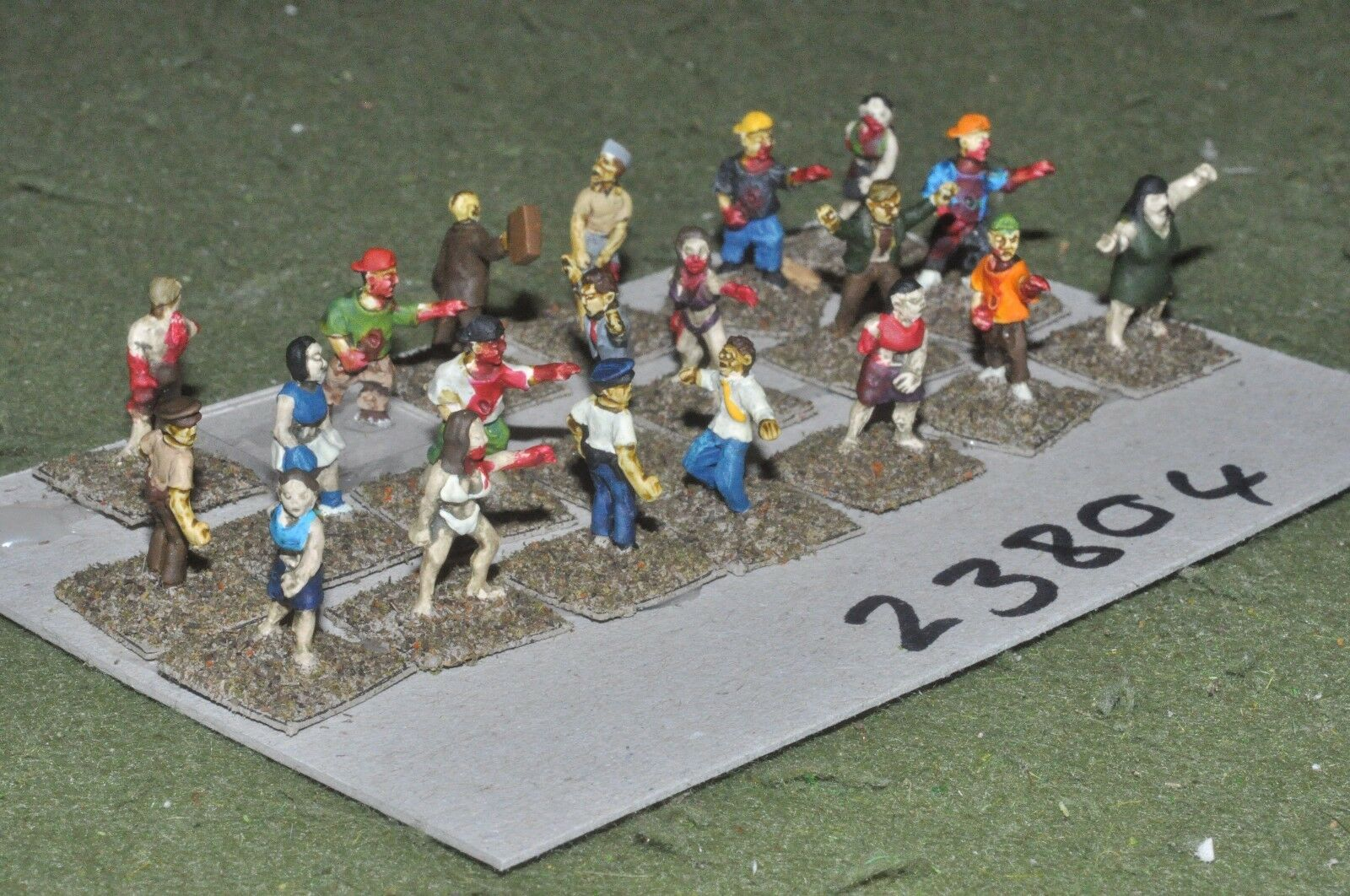 15mm scifi   human - special forces 20 figures - inf (23804)