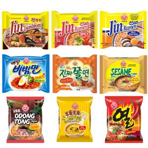 [Ottogi] coreano Instant Ramen Noodle () - 9 flavors