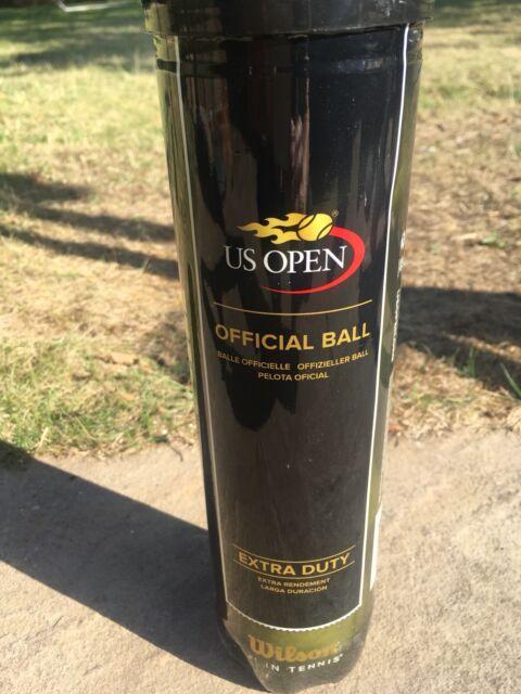 Wilson US Open Tennis Balls Tube of 4