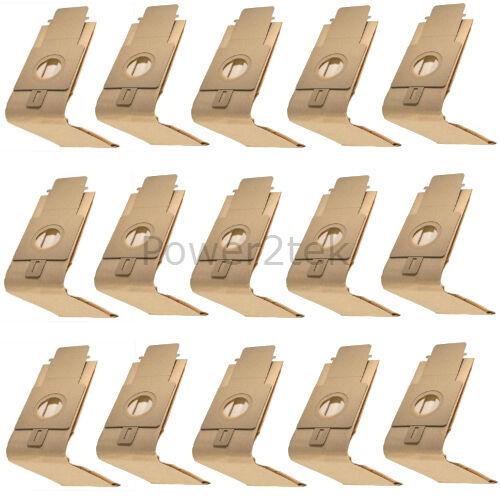 15 x H20 hoover poussière sacs pour hoover U3258 U3258 001 U3268 uk stock