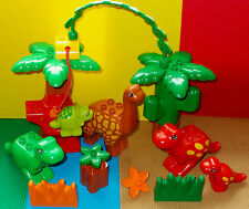 LEGO DUPLO-GROSSES DINOSAURIER~SPIELE SET~DINOSAURIER~WELT~DINOSAUR~DINOS