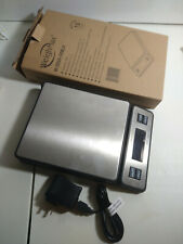 Weighmax 90 Lb X 01 Oz Durable Stainless Steel Digital Postal Scale W 2809