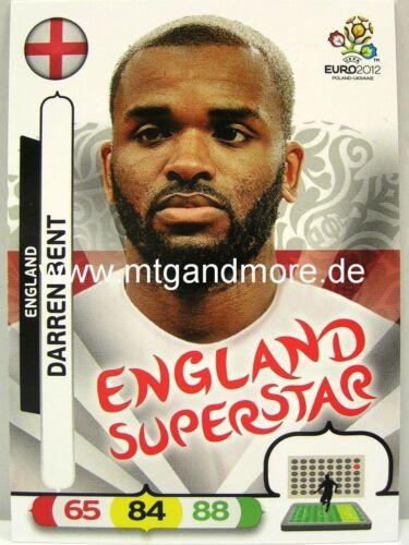 England Darren Bent Adrenalyn XL EURO EM 2012