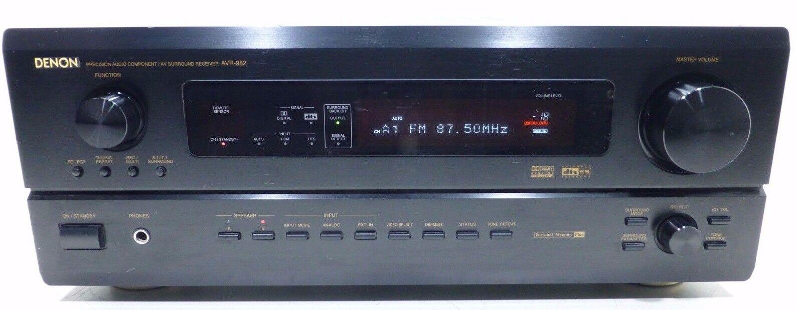 JVC RX-6010VBK  AM//FM Stereo Home Theater Receiver 5.1 Dolby 500W w//Remotebundle