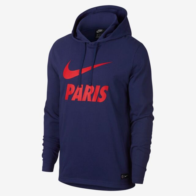 super popular 43276 dcdce NIKE PSG PARIS SAINT-GERMAIN CORE HOODIE 2018/19.