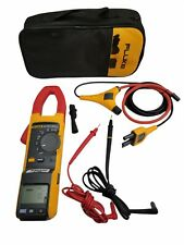 Fluke 381 Remote Display Trms Clamp Acdc Meter Withiflex Case Magnetic Display
