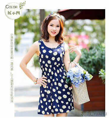 Summer Women Fashion Elegant Cocktail Party Sexy  Dress Flower Short Knit Skirt
