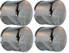 4 CAP DEAL EAGLE ALLOY WHEEL RIM CENTER CAP 3117 CHROME 8 LUG PUSH THRU 5.12""