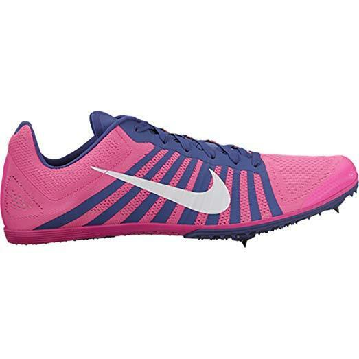 Nike Zoom D Track Field Spikes Distance Running shoes Pink Purple Size 6