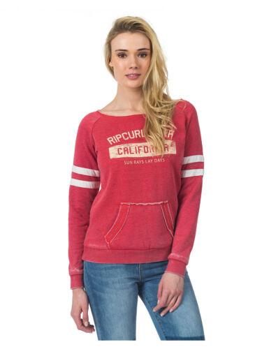Rip Curl Broome Fleece Sweat-shirt à Vintage Rouge