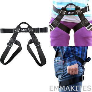S-L-Size-Half-Body-Harness-Kids-Adults-For-Outdoor-Zip-Line-Basic-Climbing
