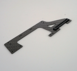 OMPHOBBY M2 3D Lower OSHM2022 Helicopter Carbon Fiber Right