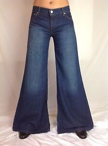 Size-10-Levis-Womens-Jeans-Super-Wide-Flare-Bell-Bottom-Vintage-NWT-Size-10