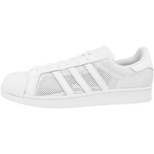 Adidas-Superestrella-Zapatos-Retro-Zapatillas-Deportivas-Blanco-b42622
