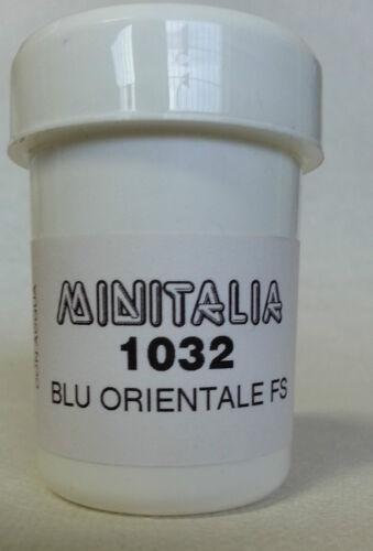 MINITALIA MODELTRENO COLORE  BLU ORIENTALE FS art MI 1032