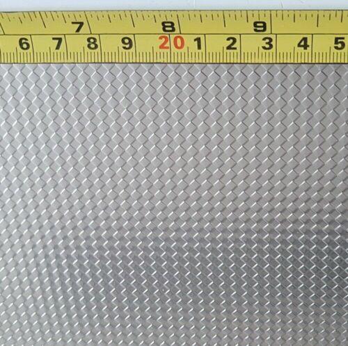 Edelstahlblech Raute 1250x500x1,0mm Designblech Edelstahlverkleidung niro Metall