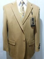 Men's Two Button,cashmere, Wool Sport Coat, Camel,