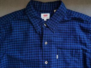 Herren-Hemd-LEVIS-LEVI-S-Pacific-No-Pocket-Shirt-gr-M
