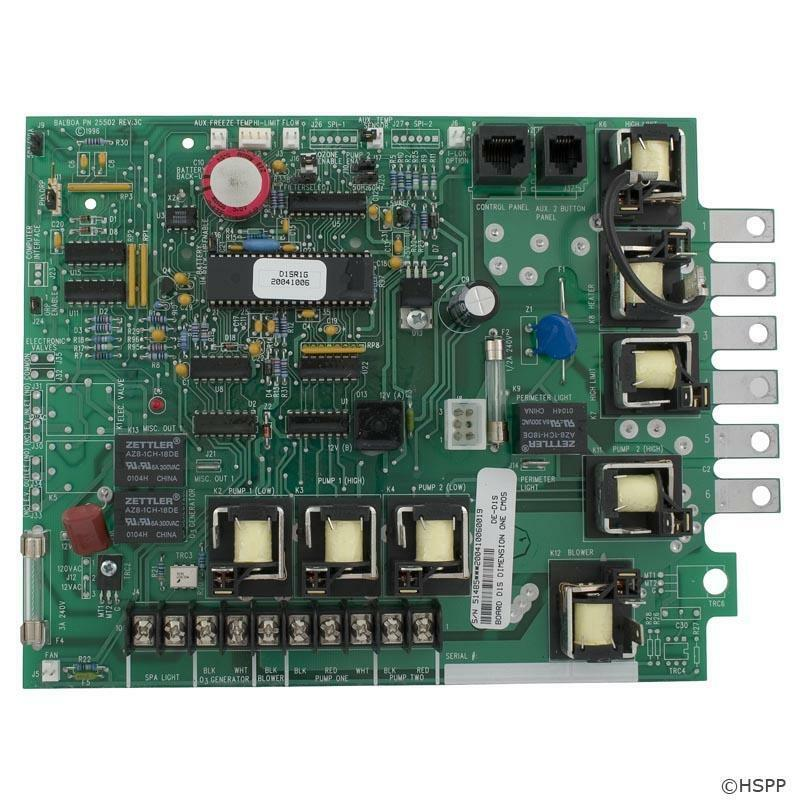 Dimension One, Balboa - PCB, D1SR, Serial Deluxe - 51485 , D1SR1C