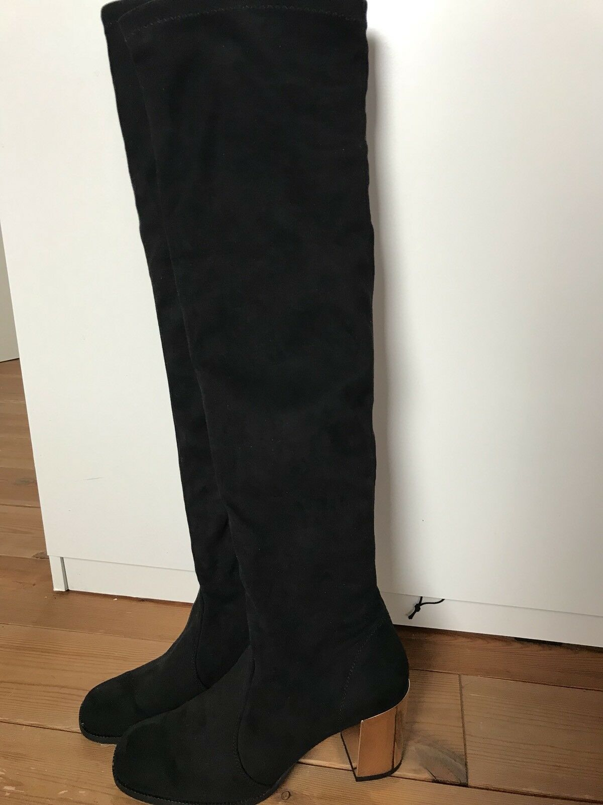 NR Rapizardi Firenze, stiefel, overknee, schwarz gr 39, made in