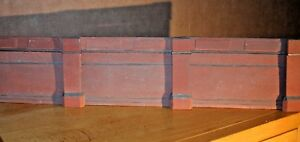 12 X Piece Detailed Model Railway Retaining Wall For Ho / Oo New Length 600mm 03