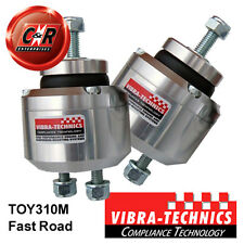 2x Toyota Chaser Vibra Technics Engine Mounts 05/95-99 1JZ#,2JZGE F.Road TOY310M