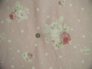 Yuwa-Vintage-Appeal-Gorgeous-Pink-Roses-on-Pink-Cream-Dots-Linen-Union