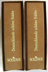 Aa14) 2 albums + coffret avec goldprägung Allemagne plus belle villes-afficher le titre d`origine q7F2hohs-07143004-695686967