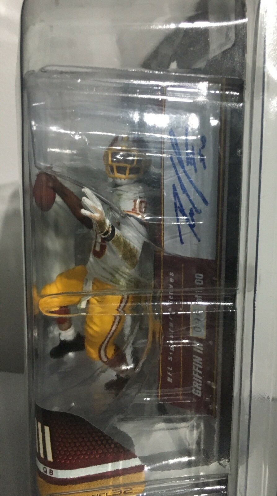 ROBERT GRIFFIN GRIFFIN GRIFFIN RG3 MCFARLAND TOYS RARE AUTOGRAPH AUTO VARIANT   100 BAYLOR 60def6