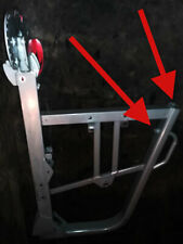Used Bowflex Blaze Elite Exceed Plus Feet Foot Frame Endcap End Cap Black 1