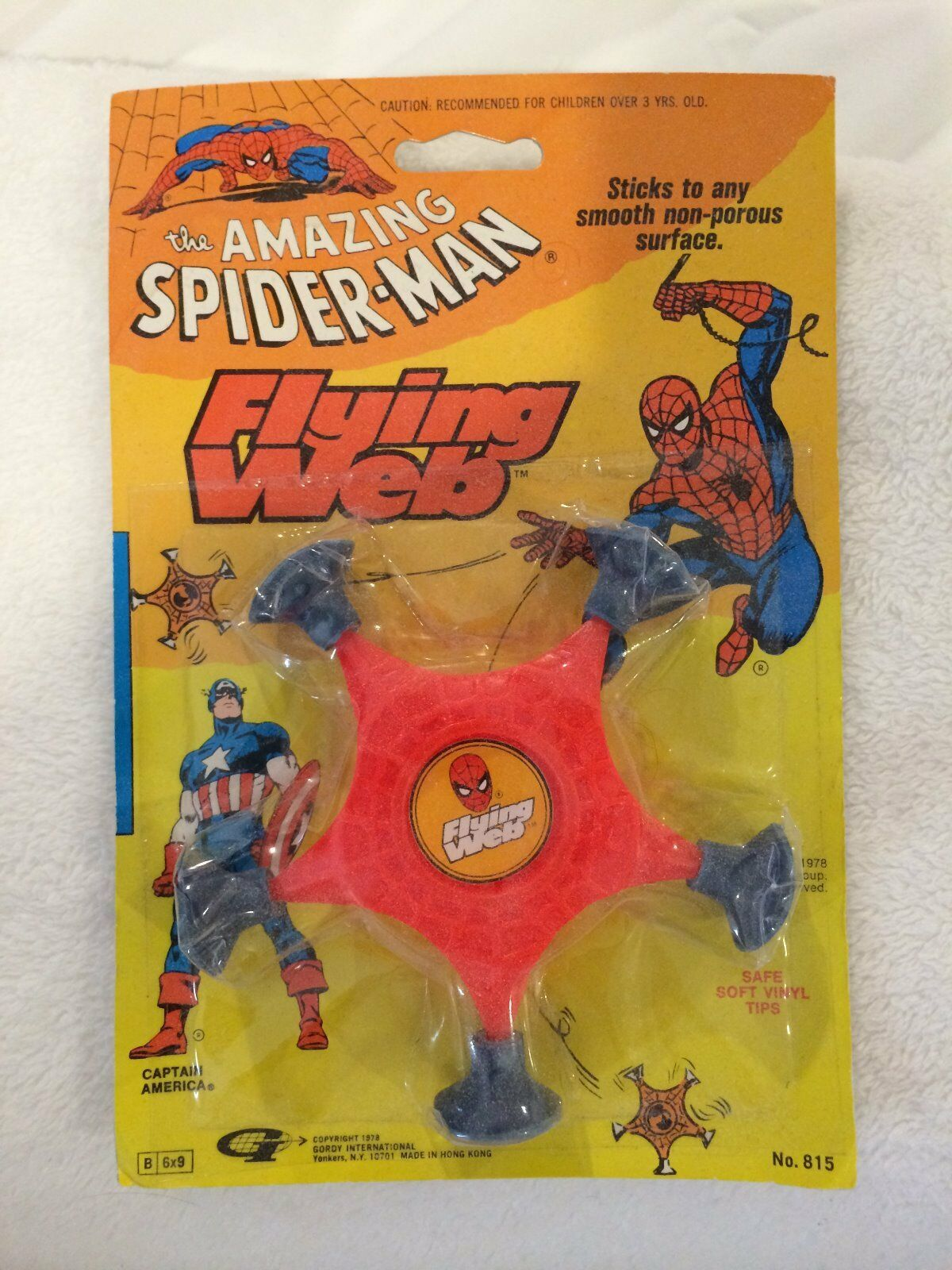The Amazing spider-man 1978 marvel flying web sealed captain america STAN LEE