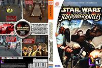 Star Wars Episode I: Jedi Power Battles Custom Sega Dreamcast Case (no Game)
