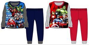 babcc22b94 La imagen se está cargando Nuevo-Disney-Marvel-Avengers-Pijama-Ninos -Infantil-Pijama-