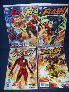 Flash-The-Fastest-Man-Alive-1-5-NM-with-Bag-and-Board-DC-Comics-2006