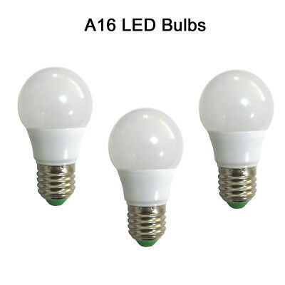 10pcs E27 A19//A60 5W LED Globe Bulb Lamp 12-24V Camping Light Equivalent 60W #T
