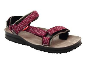 buy popular 6ef37 25370 Dettagli su SANDALI DONNA LIZARD ESTATE LI11078 E SUPER HIKE ETNO CHERRY