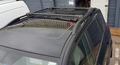 Rails de toit et barres transversales en aluminium Toyota Rav4 2013