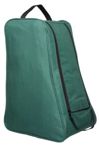 Green-Wellington-Boot-Bag-Carry-Case-Shoe-Welly-Travel-Transport-Muddy-Storage