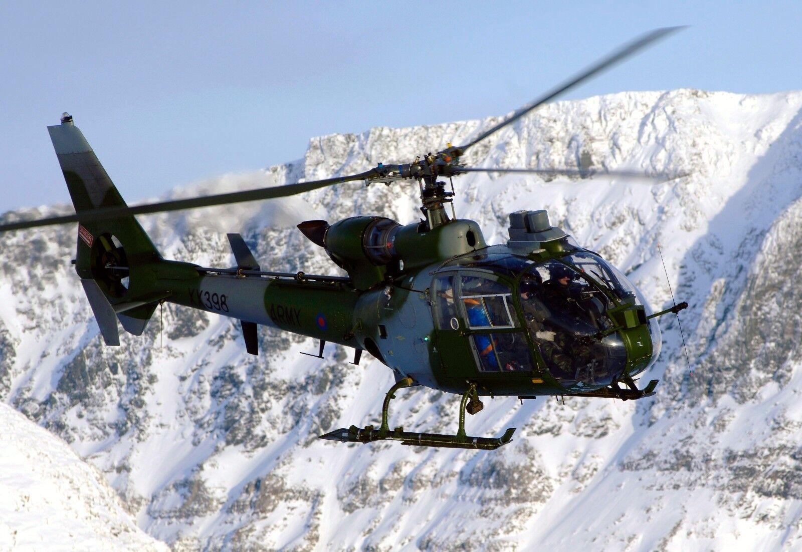 ARMY AIR CORP GAZELLE 33 sqn  Photo Print