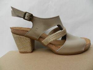 El Naturalista Mola Chaussures Femme 41 Sandales Espadrille N5031 Talon UK8 Neuf