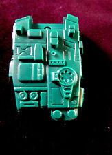 Transformers G1 pretendente al trono Mazzate riproduzione Tank Torretta
