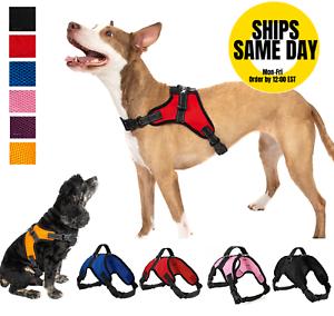No-Pull-Adjustable-Dog-Pet-Vest-Harness-Quality-Nylon-XS-S-M-L-XL-XXL-Extra-Larg